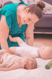 Atelier massage bébé lyon villeurbanne